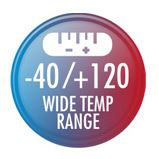 Wide Temp Range