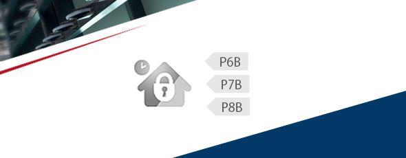Nous protégeons contre les effractions dans les classes P6B, P7B, P8B