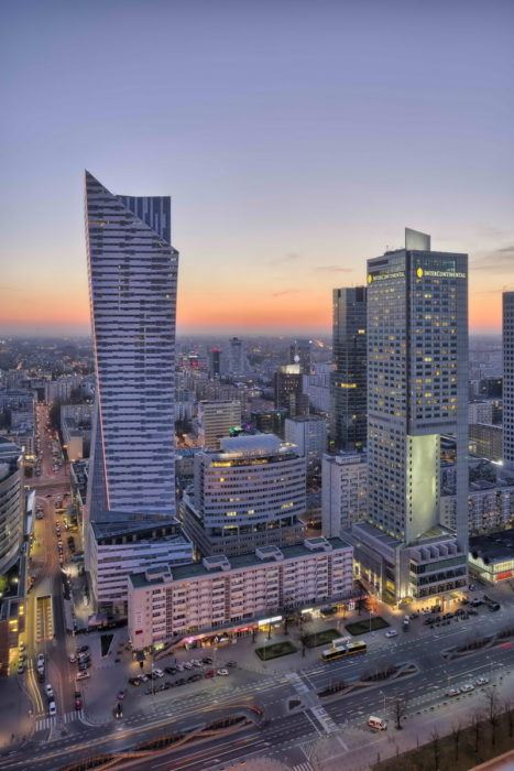 Zlota 44 - The Tallest in The European Union (Poland)