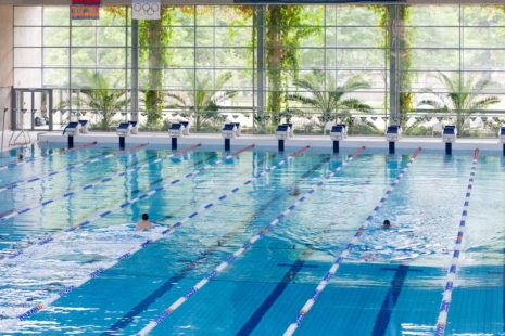 Floating Arena in Szczecin (Poland)