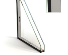Glazed units with warm edge