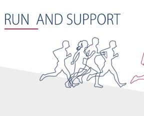 Run and support even more often