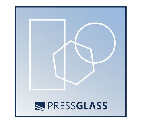 glass in a shape of rectangles polygons or arcs