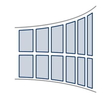 vitrage des façades de bâtiment, vitrines et verrières