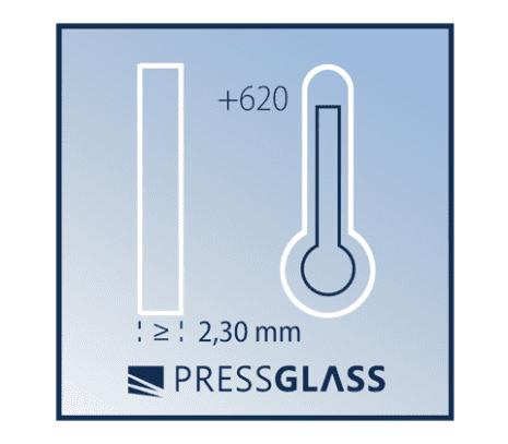 możliwość termicznej obróbki od gr. 2,30 mm