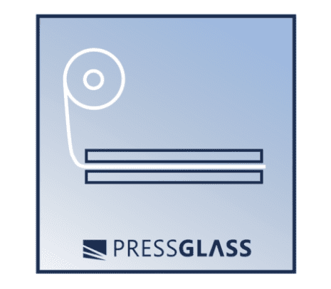layered laminated glass