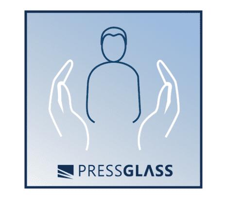 в качестве стекла для наружных применений является также безопасным стеклом (в соответствии со стандартами BS 6206 и EN 12600)