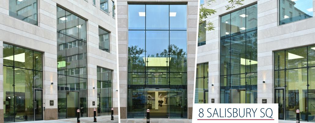 8 Salisbury Square – large-size structural glazing - PRESS GLASS SA